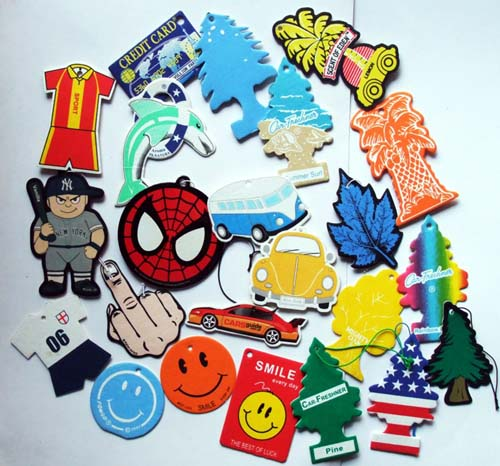 Custom Shape Air Fresheners