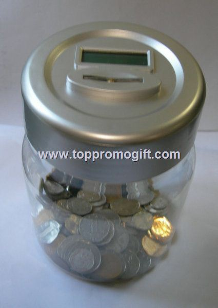 Coin Bank with memory IC