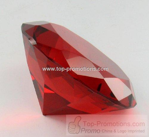 Diamond shape desk accessory