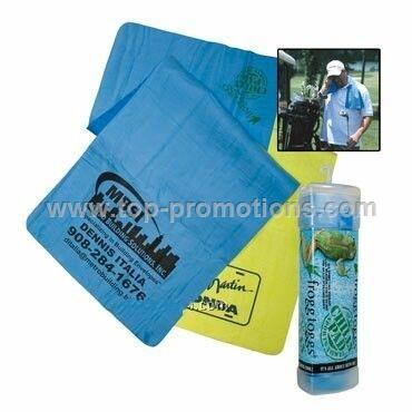 Chilly Pad Golf Towel