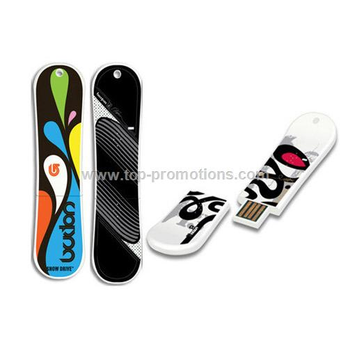 Snowboard USB Flash Drive