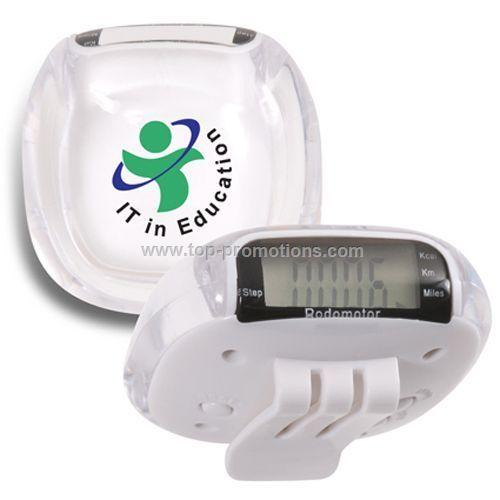 Multi-Function Crystal Pedometer