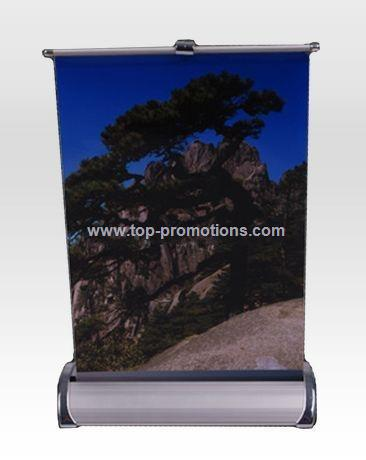 mini roll up,roll up displays