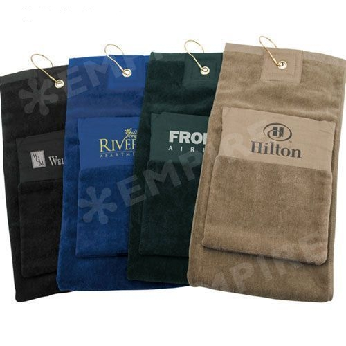 Golf Towel with Pocket
