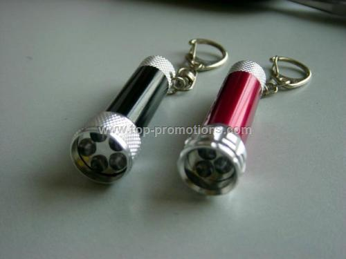 3/5/7LED light keychain