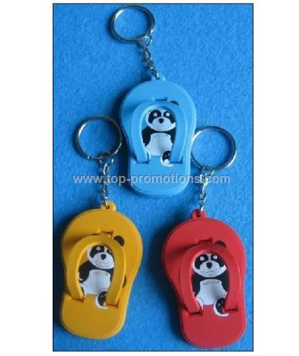 PVC Shoes Keychain