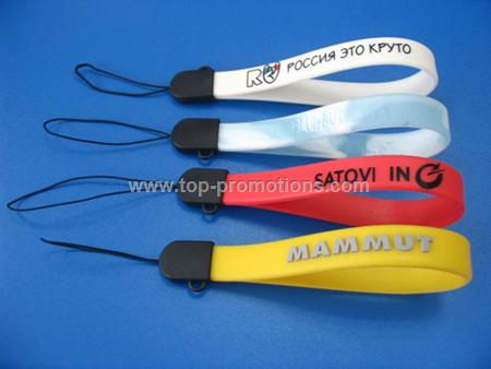Silicon Mobile Phone Strap