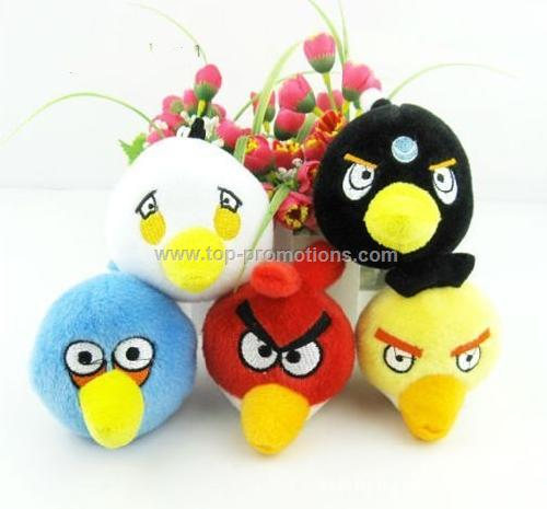 Angry bird phone chain