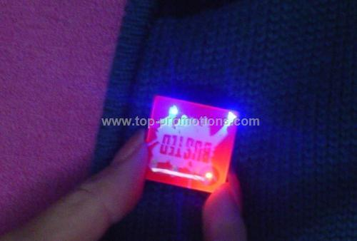 Flashing Pin (with Magnet)