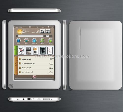 7 inch E-BOOK with Android 2.1
