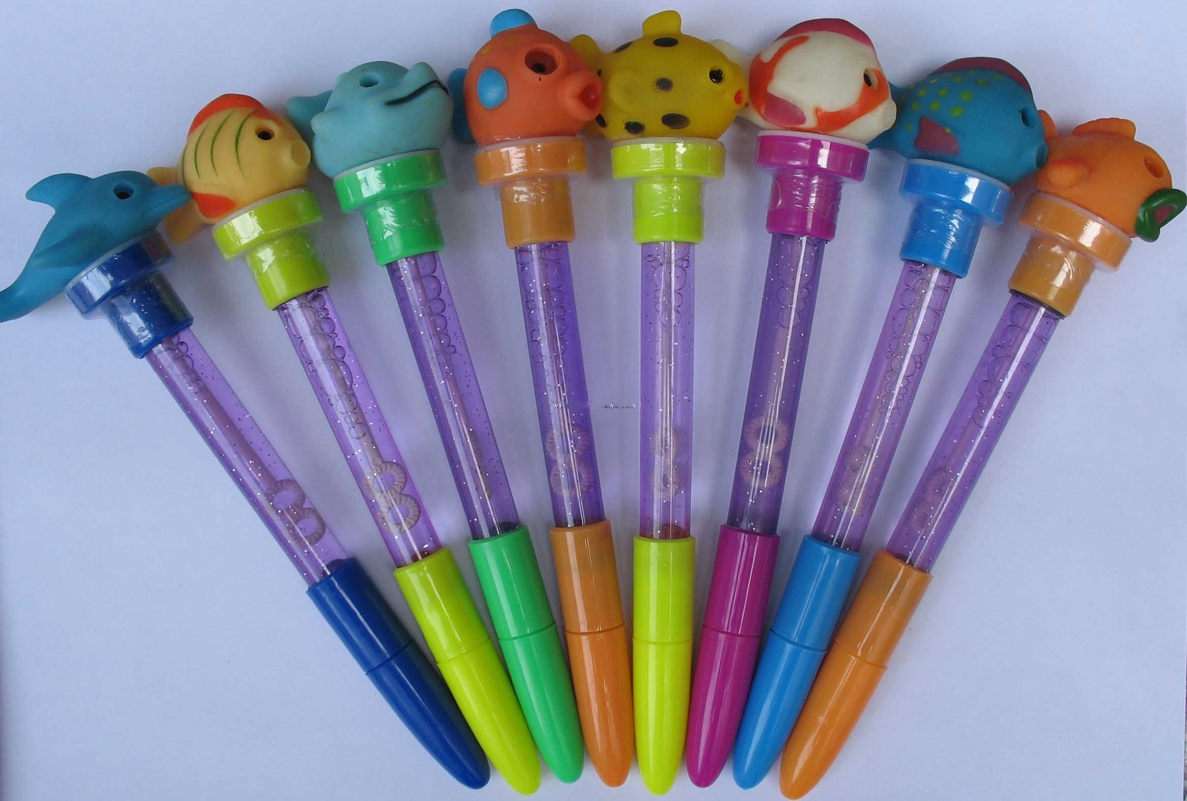 Cartoon flash pen with Bubble