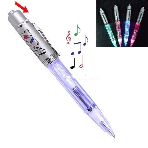 Music pen with LED light