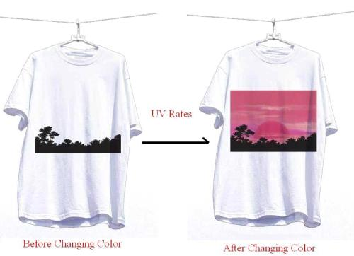 UV Color Change T-Shirt