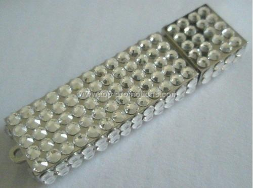 Free Shipping,Rhinestone USB,China OEM New USB,Aut