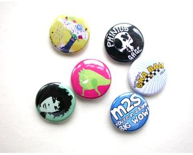 Promo Button Badges