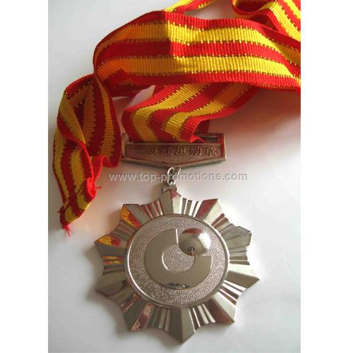 Plastic Medal with lanyard