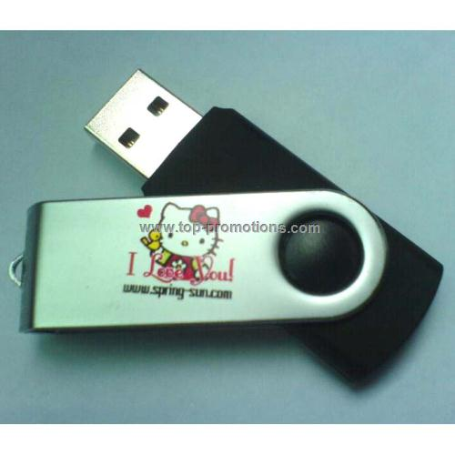 Swivel usb disk