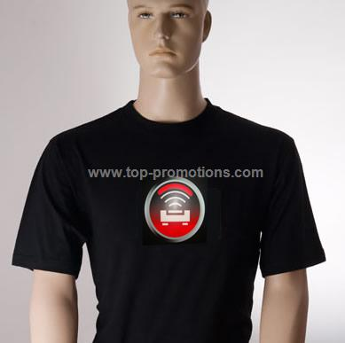 Signal induced T-shirt