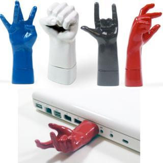 Hand Shaped Cool USB Flash Drives