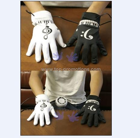 Electronic Piano Gloves with Speaker