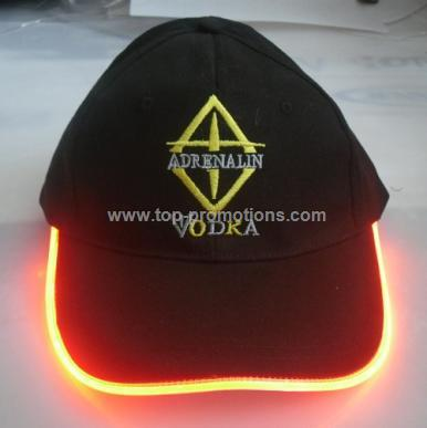LED flashing hat for promotional