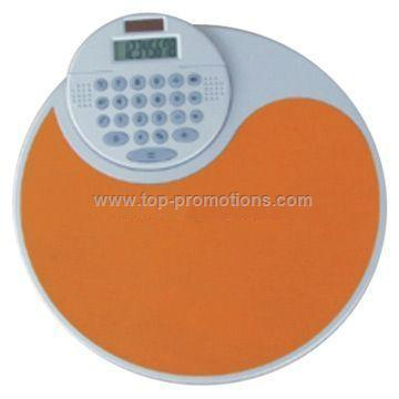 Mouse Pad with Calculator