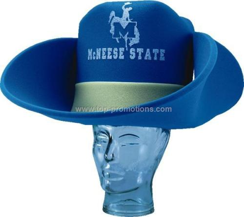 50 Gallon Foam Cowboy Hat With Star
