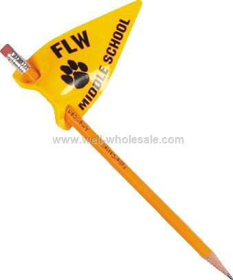 Pencil Pennants for School Spirit