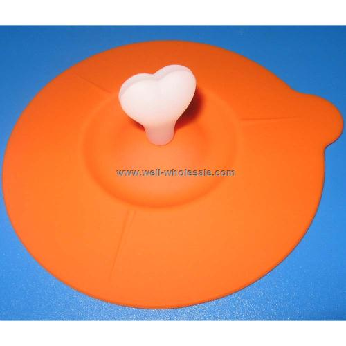 Silicone coffee cup lids