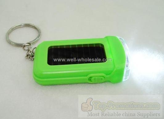 Solar Keychain with light