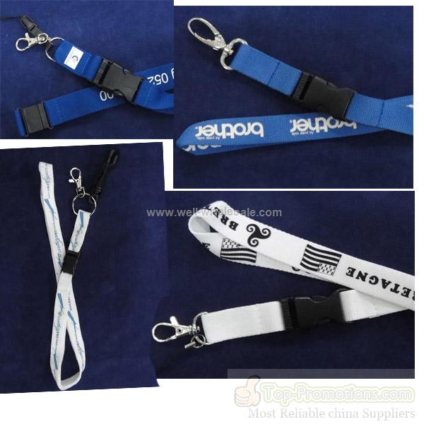 2012 Badge Holder Polyester Lanyard