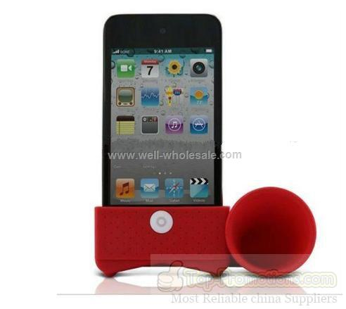 very good silicone rubber louder speaker for iphone