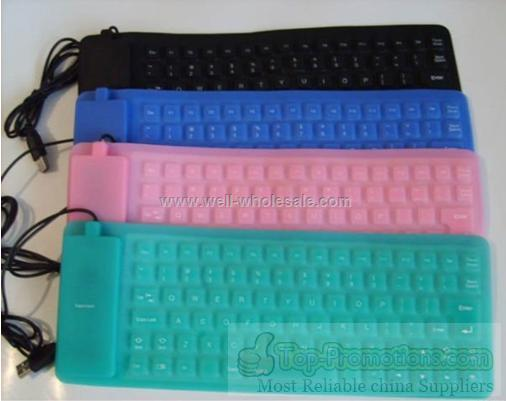flexible silicone keyboard