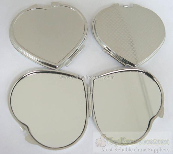 Metal compact mirror