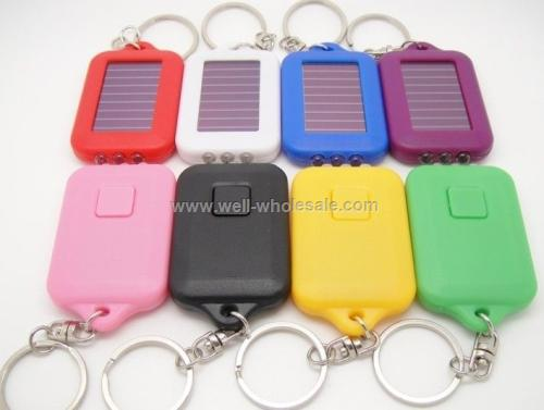 Colorful Torch Keychain