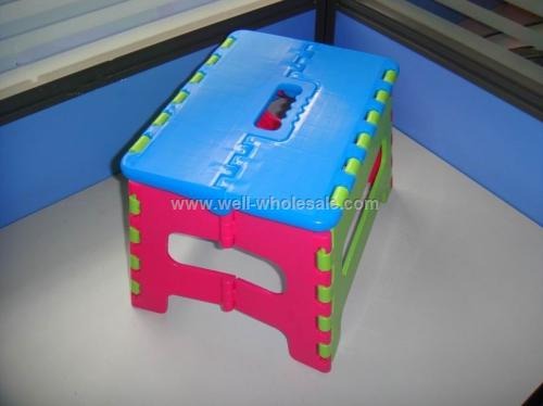 plastic folding stool convenient folding chair