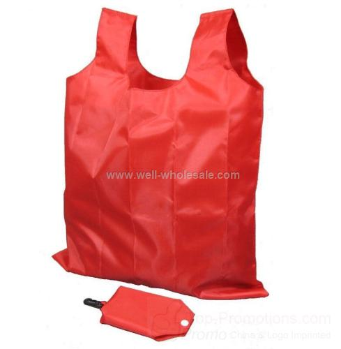 resuable nylon bag/folding shopping bag