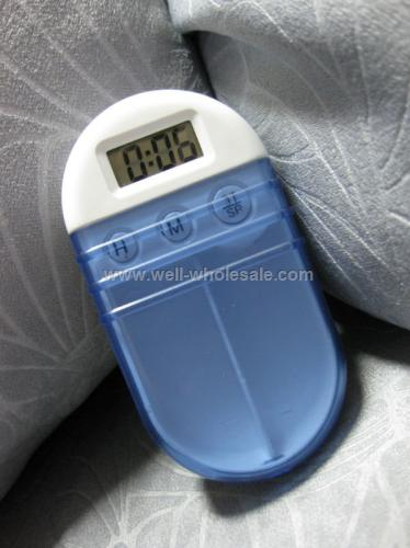 pill box with timer