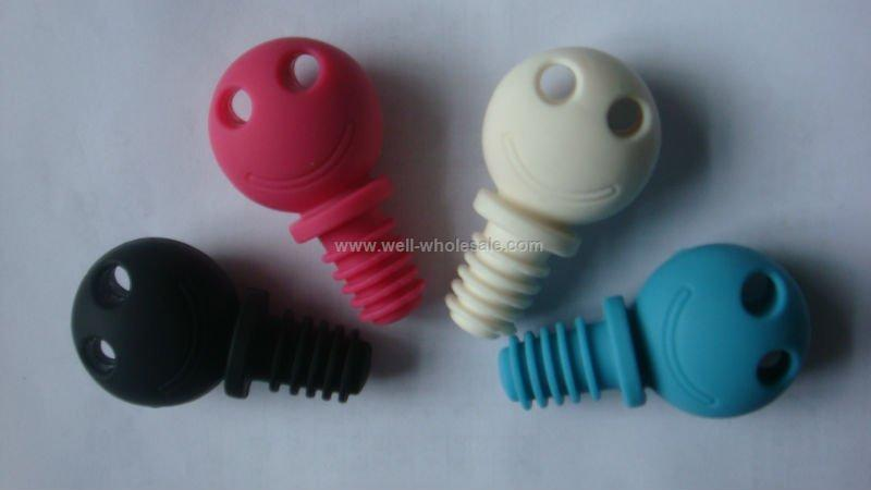 food grade silicone wine bottle stopper
