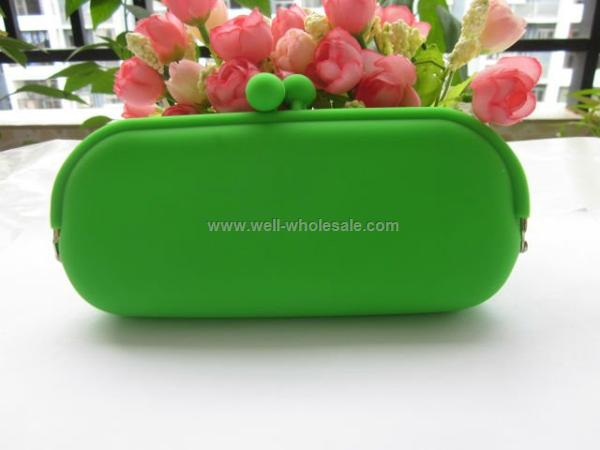 ladies fashion silicone glasses case