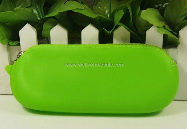 hot new popular silicone pouch eyeglass bag case