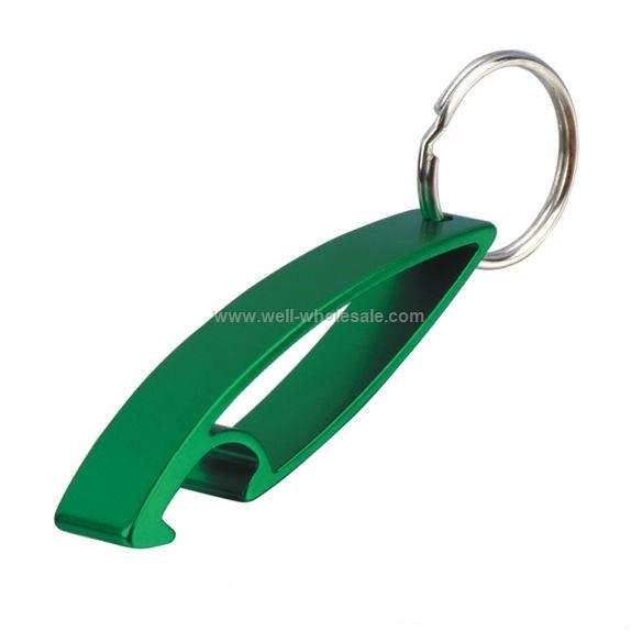 Hot Aluminum keychain bottle opener