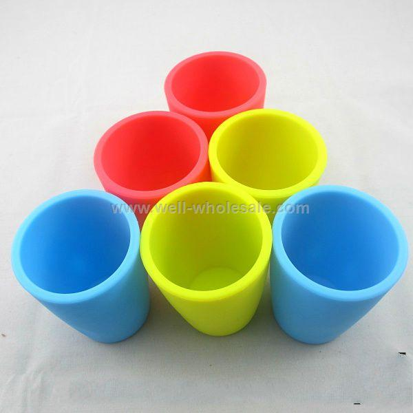 2013 plastic cup 100ml collapsible silicone cup