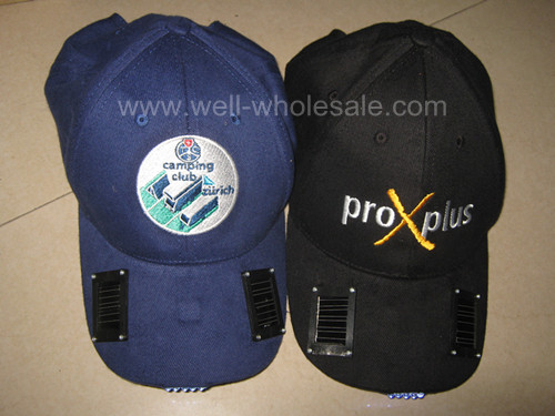 solar light cap