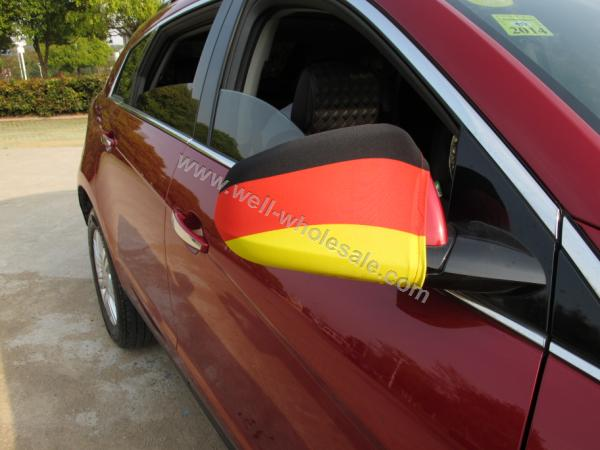 custom car mirror flag
