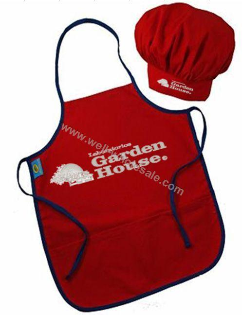 Customized apron and hat