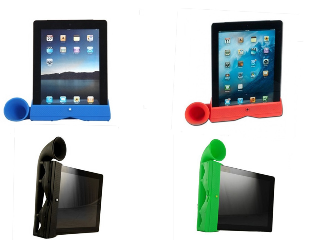 OEM silicone speaker for ipad amplifier