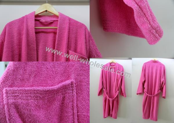 Bathrobe,waffle bathrobe, hotel bathrobe, cotton bathrobe