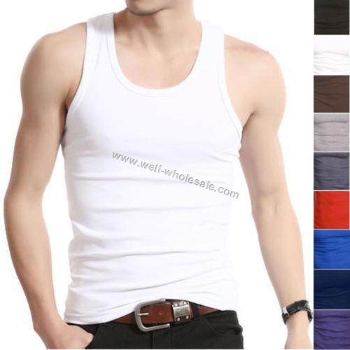 fashion Cotton singlet tank tops for men,mens tank top,