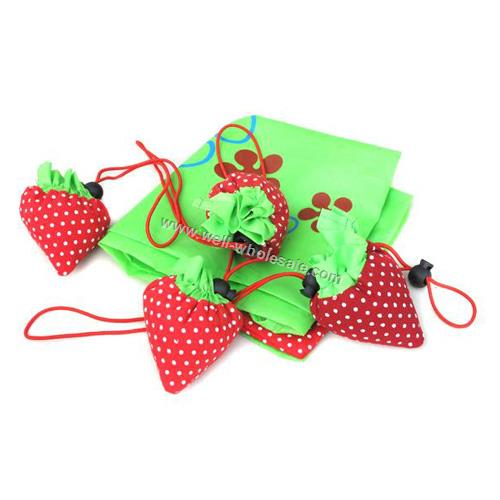 Strawberry shopping bag, cheap shopping bag